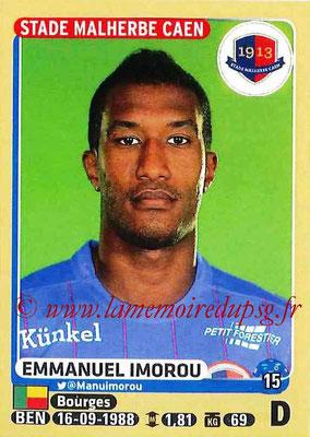 2015-16 - Panini Ligue 1 Stickers - N° 106 - Emmanuel IMOROU (SM Caen)
