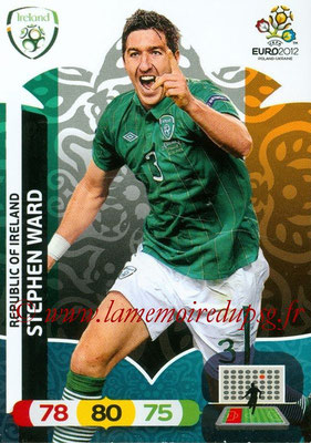 Panini Euro 2012 Cards Adrenalyn XL - N° 181 - Stephen WARD (Eire)