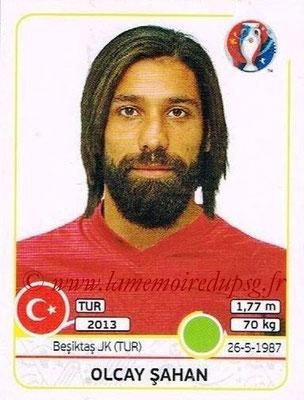 Panini Euro 2016 Stickers - N° 422 - Olcay SAHAN (Turquie)