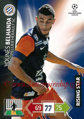 2012-13 - Adrenalyn XL champions League N° 169 - Younès BELHANDA (Montpellier HSC) (Rising Star)