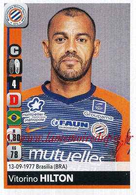 2018-19 - Panini Ligue 1 Stickers - N° 256 - Vitorino HILTON (Montpellier)