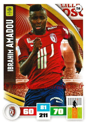 2016-17 - Panini Adrenalyn XL Ligue 1 - N° 114 - Ibrahim AMADOU (Lille)