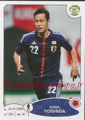 2014 - Panini Road to FIFA World Cup Brazil Stickers - N° 401 - Maya YOSHIDA (Japon)
