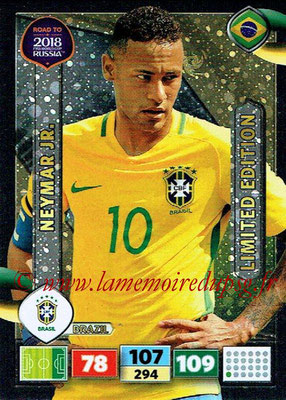 2018 - Panini Road to FIFA World Cup Russia Adrenalyn XL - N° LE-NJ - NEYMAR Jr (Brésil) (Limited Edition)