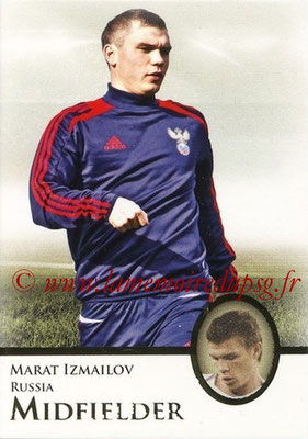 2013 - Futera World Football Unique - N° 042 - Marat IZMAILOV (Russie) (Midfielder)