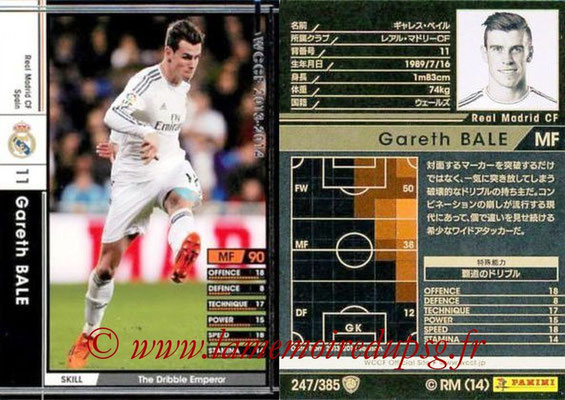 2013-14 - WCCF - N° 247 - Gareth BALE (Real Madrid CF)