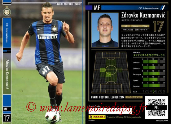 Panini Football League 2014 - PFL06 - N° 019 - Zdravko KUZMANOVIC (FC Internazionale)