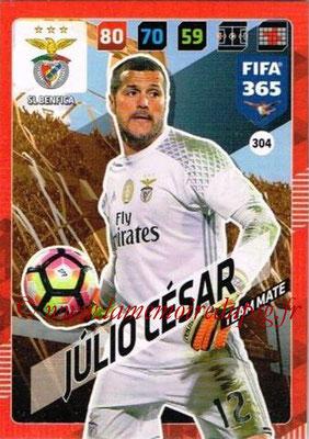 2017-18 - Panini FIFA 365 Cards - N° 304 - JULIO CESAR (SL Benfica)