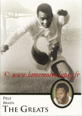 2013 - Futera World Football Unique - N° 114 - PELE (Brésil) (The Greats)
