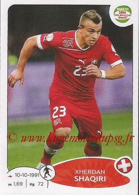 2014 - Panini Road to FIFA World Cup Brazil Stickers - N° 364 - Xherdan SHAQIRI (Suisse)
