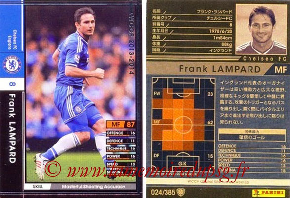 2013-14 - WCCF - N° 024 - Frank LAMPARD (Chelsea FC)