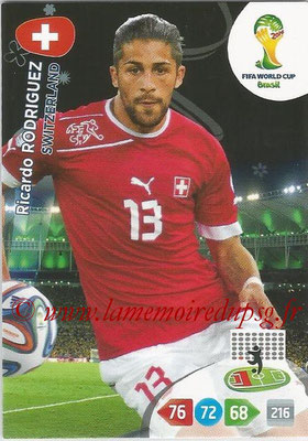 2014 - Panini FIFA World Cup Brazil Adrenalyn XL - N° 294 - Ricardo RODRIGUEZ (Suisse)