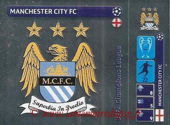 2014-15 - Panini Champions League N° 022 - Logo Manchester City FC