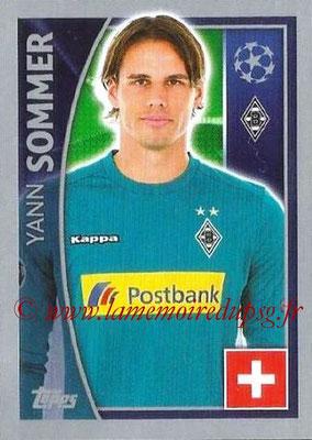 2015-16 - Topps UEFA Champions League Stickers - N° 279 - Yann SOMMER (VfL Borussia Mönchengladbach)