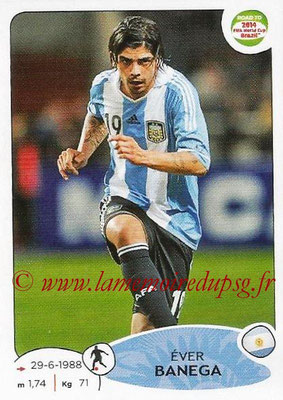 2014 - Panini Road to FIFA World Cup Brazil Stickers - N° 064 - Ever BANEGA (Argentine)