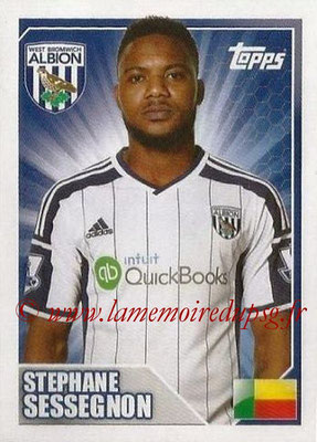 N° 513 - Stephane SESSEGNON (2008-Jan 11, PSG > 2014-15, West Bromwich Albion, ANG)