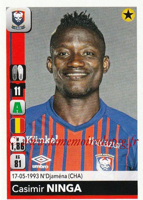 2018-19 - Panini Ligue 1 Stickers - N° 095 - Casimir NINGA (Caen)