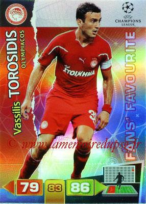 2011-12 - Panini Champions League Cards - N° 316 - Vassilis TOROSIDIS (Olympiacos) (Fans' Favourite)