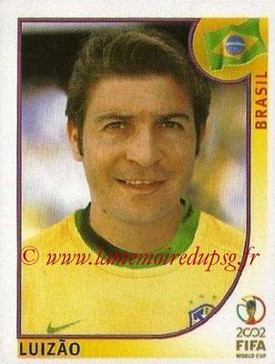 2002 - Panini FIFA World Cup Stickers - N° 185 - LUIZAO (Brésil)