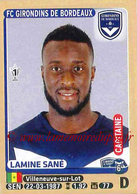 2015-16 - Panini Ligue 1 Stickers - N° 083 - Lamine SANE (FC Girondins de Bordeaux) (Capitaine)
