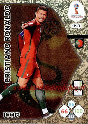 2018 - Panini FIFA World Cup Russia Adrenalyn XL - N° 443 - Cristiano RONALDO (Portugal) (Icon)