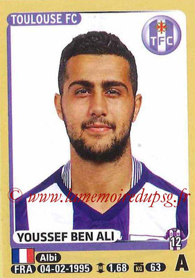 2015-16 - Panini Ligue 1 Stickers - N° 452 - Youssef BEN ALI (Toulouse FC)