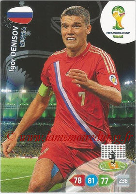 2014 - Panini FIFA World Cup Brazil Adrenalyn XL - N° 288 - Igor DENISOV (Russie)