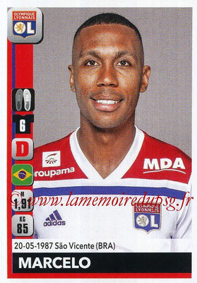 2018-19 - Panini Ligue 1 Stickers - N° 181 - MARCELO (Lyon)