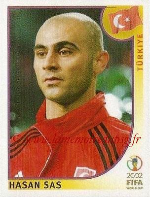 2002 - Panini FIFA World Cup Stickers - N° 202 - Hasan SAS (Turquie)