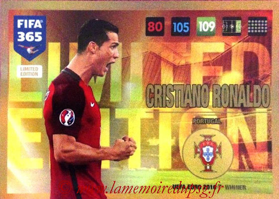 2016-17 - Panini Adrenalyn XL FIFA 365 - N° LE56 - Cristiano RONALDO (Portugal) (Limited Edition)