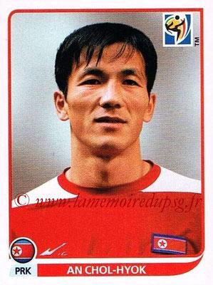 2010 - Panini FIFA World Cup South Africa Stickers - N° 514 - An CHOL-HYOK (Corée du Nord)
