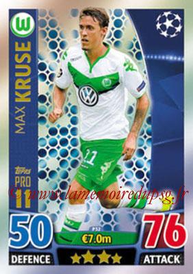 2015-16 - Topps UEFA Champions League Match Attax - N° P32 - Max KRUSE (VFL Wolfsburg) (Pro 11)