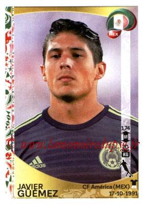 Panini Copa America Centenario USA 2016 Stickers - N° 219 - Javier GUEMEZ (Mexique)