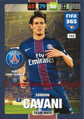 2016-17 - Panini Adrenalyn XL FIFA 365 - N° 162 - Edinson CAVANI (Paris Saint-Germain)