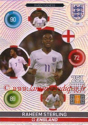 Panini England 2016 Adrenalyn XL - N° 114