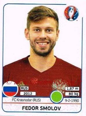 Panini Euro 2016 Stickers - N° 178 - Fedor SMOLOV (Russie)