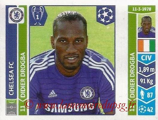 2014-15 - Panini Champions League N° 506 - Didier DROGBA (Chelsea FC)