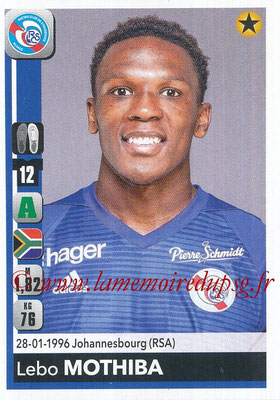 2018-19 - Panini Ligue 1 Stickers - N° 469 - Lebo MOTHIBVA (Strasbourg)