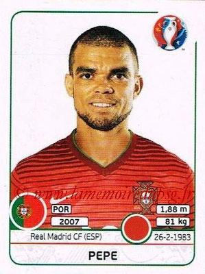 Panini Euro 2016 Stickers - N° 580 - PEPE (Portugal)