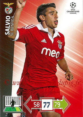 2012-13 - Adrenalyn XL champions League N° 067 - SALVIO (SL Benfica)