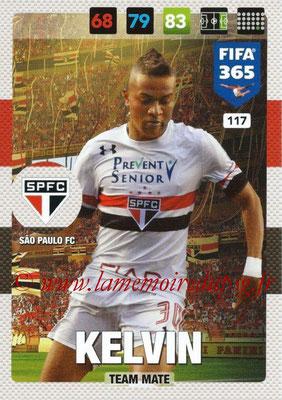 2016-17 - Panini Adrenalyn XL FIFA 365 - N° 117 - KELVIN (Sao Paulo FC)