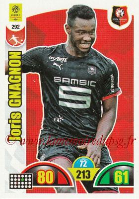 2018-19 - Panini Adrenalyn XL Ligue 1 - N° 292 - Joris GNAGNON (Rennes)