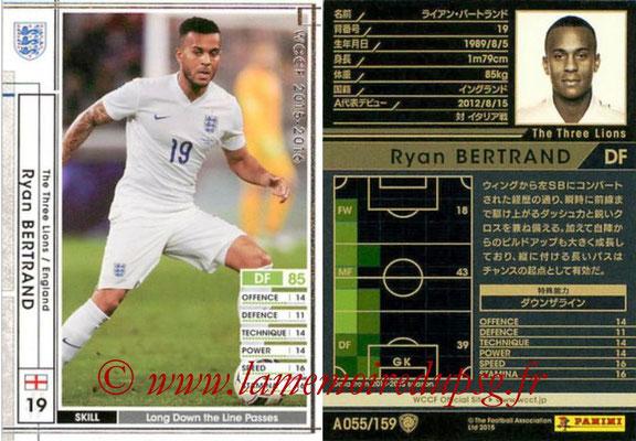 2015-16 - Panini WCCF - N° A055 - Ryan BERTRAND  (Angleterre)