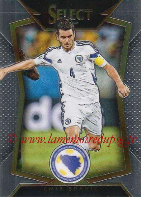 2015 - Panini Select Soccer - N° 045 - Emir SPAHIC (Bosnie-Herzegovine)