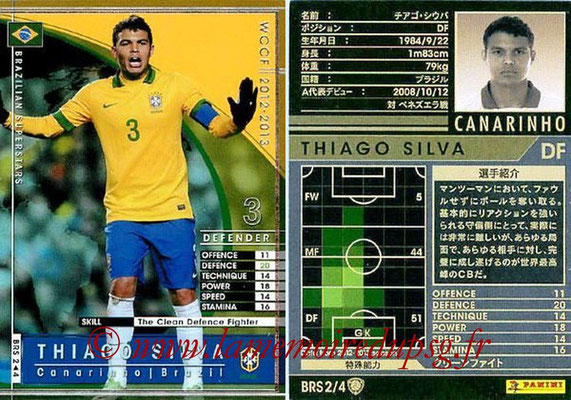 2012-13 - WCCF - N° BRS2 - Thiago SILVA (Brésil)