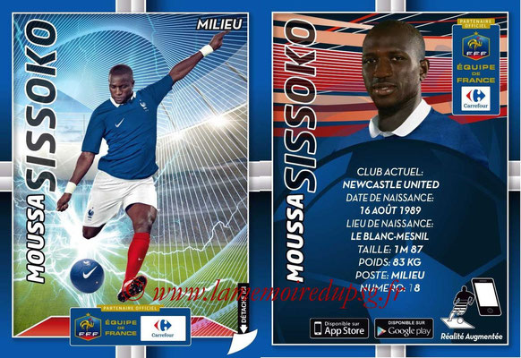 WC 2014 Collection Carrefour 3D Bleus - N° 16 - Moussa SISSOKO (Newcastle)