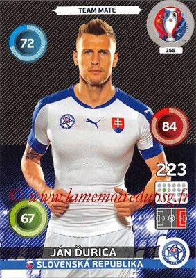 Panini Euro 2016 Cards - N° 355 - Jan DURICA (Slovenie)
