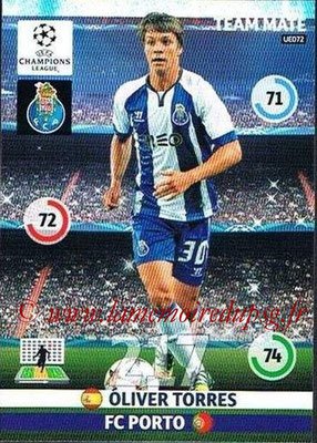 2014-15 - Adrenalyn XL champions League Update edition N° UE072 - Oliver TORRES (FC Porto)