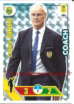 2017-18 - Panini Adrenalyn XL Ligue 1 - N° 484 - Claudio RAINIERI (Nantes) (Coach)
