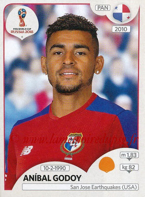 2018 - Panini FIFA World Cup Russia Stickers - N° 547 - Anibal GODOY (Panama)